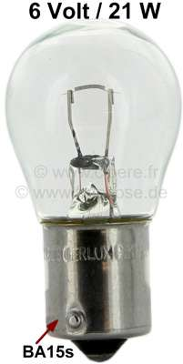 Citroen-2CV Bulb 21 Watt, 6 Volt