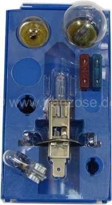 Citroen-2CV Bulb spare box H1, 12 V