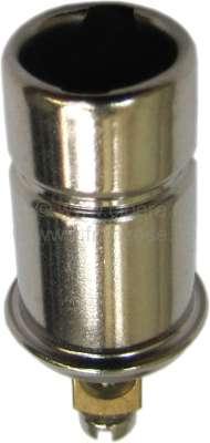 Citroen-2CV lamp base Ba7s, 6 + 12 Volt, single-pole