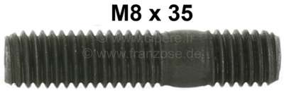 Citroen-2CV Stud bolt M8 x 35. For the securement of the carburetor on the intake manifold. Suitable f