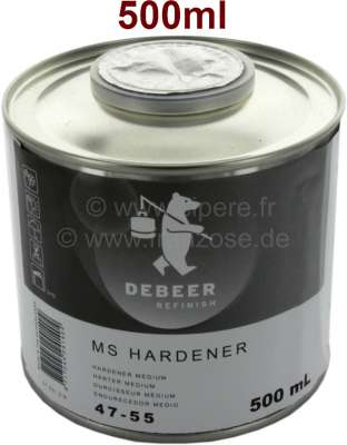 Citroen-2CV Harder for lacquers, 500ml for painting pistol + clear lacquer