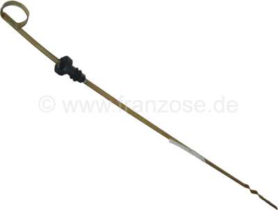 Citroen-2CV Engine oil dipstick, suitable for Citroen 2CV6 (602cc) + 2CV4 (435cc). Reproduction.