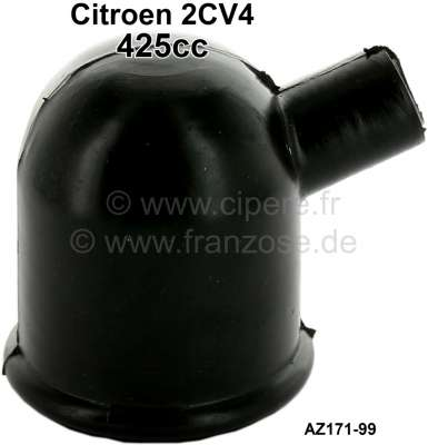 Citroen-2CV Oil filler neck rubber cap, suitable for Citroen 2CV from 03/1963 to 1970. Reproduction. O