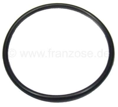 Citroen-2CV Oil filter flange, O-ring. Suitable for Citroen 2CV, Dyane. Dimension: 34 x 37.8 x 1,9mm.
