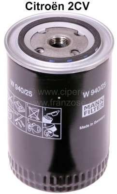 Citroen-2CV Oil filter largely, for oil filter adapter 2CV. (For item 10006 = summer cartridge).