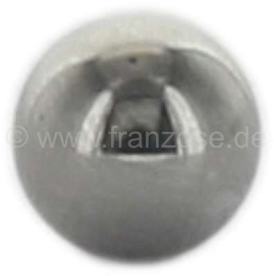 Citroen-2CV Oil pressure valve - ball for Citroen 2CV6. Installed starting from year of construction 1