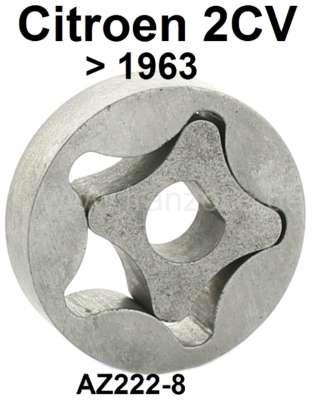 Citroen-2CV Oil pump for Citroen 2CV to year of construction 01/1963. 5 teeth. Outside diameter: 42mm,