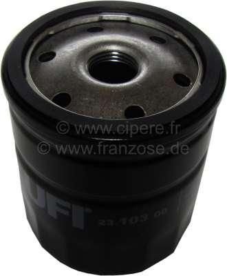 Citroen-2CV Oil filter small, for oil filter adapter 2CV. (For item 10006 = winter cartridge).