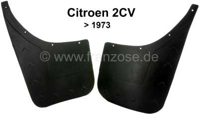 Citroen-2CV 2CV old, fender in front, mud flaps in front to year of construction 1973. 1 set (2 fittin
