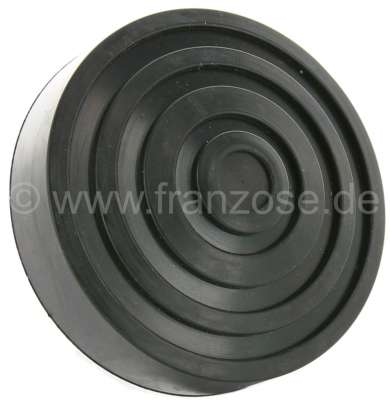 Citroen-2CV Pedal rubber approximately, for Citroen 2CV with standing pedals. (55mm mounting)