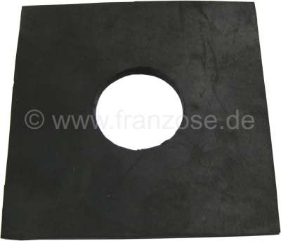 Citroen-2CV Seal (rubber) for the pedals, on the pedal floor plate. Suitable for Citroen 2CV with stan