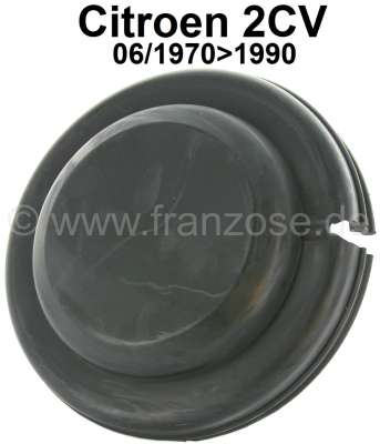 Citroen-2CV Cap for the radius arm bearing rear (for vehicles with a brake line spiral in the rear axl
