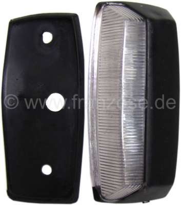 Citroen-2CV License plate light Citroen ACDY, simple reproduction.