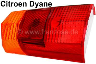 Citroen-2CV Taillight cap, suitable for Citroen Dyane. Fitting on the left of or on the right, with le