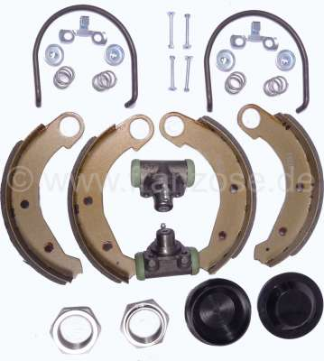 Citroen-2CV Brake system repair set rear, for Citroen 2CV6, complete to renew th rear brake system, co