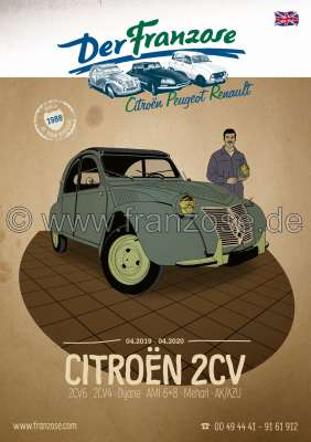Citroen-DS-11CV-HY 2CV catalog 2019, english. 368 pages! Complete catalog