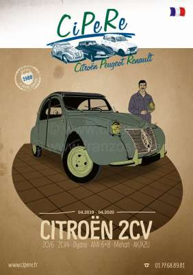 Sonstige-Citroen 2CV catalog 2019. French! 368 pages! Complete catalog Cipere with illustrations and prices