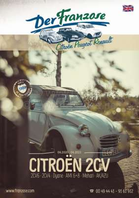 Renault 2CV catalog 2020, english. 368 pages! Complete catalog
