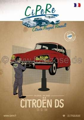 Citroen-2CV DS catalog 2019, French, 336 sides. Complete catalog