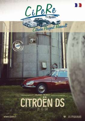 Citroen-2CV DS catalog 2020, French, 336 sides. Complete catalog