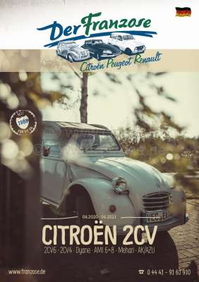 Renault German Catalogue 2CV 2020, 384 pages