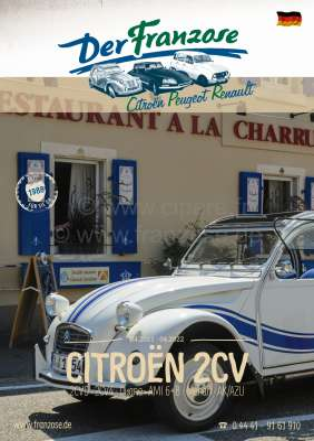 Sonstige-Citroen German Catalogue 2CV 2021, 384 pages