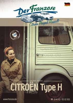 Citroen-2CV HY catalogue 2018 German.
