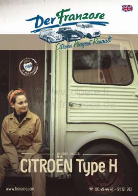 Citroen-2CV HY catalog 2018 in English! 196 sides. Complete catalog