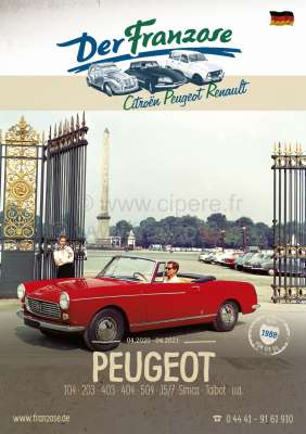 Peugeot Peugeot catalogue 2019, in german.