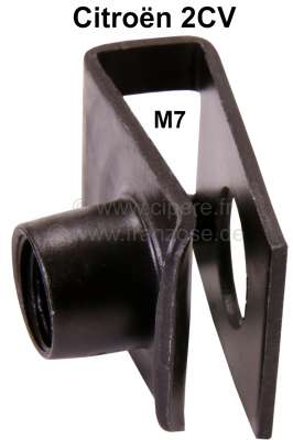 Citroen-2CV M7, chassis nut (securement of the body). Suitable for Citroen 2CV (newer version with in-