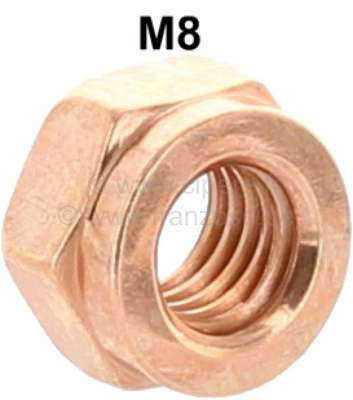 Sonstige-Citroen M8, copper nut M8, for 13mm tool. Universal suitable e.g. for exhausts + exhaust manifolds