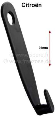 Citroen-2CV Safety belt handle, narrowly and long (from synthetic). Suitable for Citroen 2CV, Dyane, A