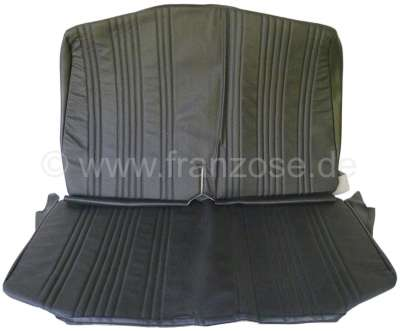 Citroen-2CV AMI8, seat purchase in front, from vinyl. Color: black. Suitable for Citroen AMI8.
