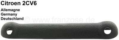 Citroen-2CV 2CV, Head restraint cover on the backrest. Color black. Original Citroen