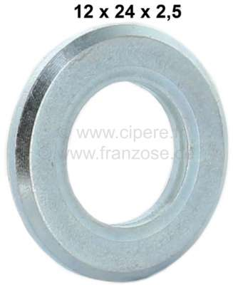 Citroen-2CV Shock absorber pin - washer, small version. Suitable for Citroen 2CV with 12mm shock absor