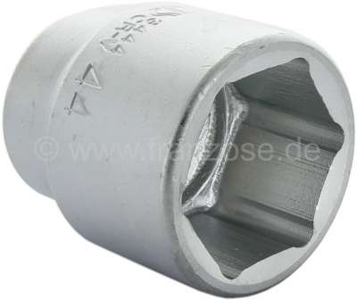 Citroen-2CV 44 socket thin-walled, for the drum rear (release the hub nut). Suitable for Citroen 2CV.
