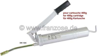 Renault Grease gun, for lubricating grease cartridge. Workshop quality!
