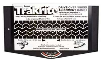 Renault Trakrite Wheel Alignment Gauge. Trakrite is the simplest, most accurate device for checkin