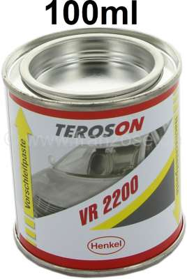 Peugeot Valve grinding-in paste (engine valves in the cylinder head), 100ml box. The double box co