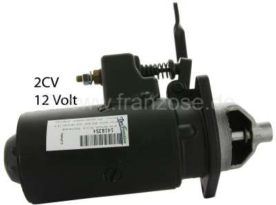 Citroen-2CV Starter motor 2CV old, old version 12 V with Bowden cable, in the exchange! Old part depos