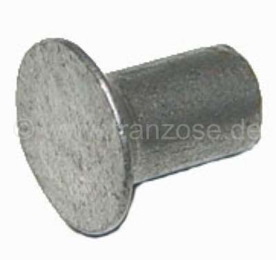 Citroen-2CV Gear rack ring, rivets for the securement of the guide ring. Suitable for Citroen 2CV, all