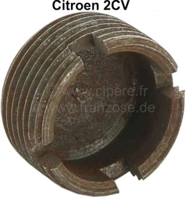 Citroen-2CV Tie rod end locking nut. Suitable for Citroen 2CV. Reproduction