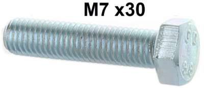 Citroen-2CV Tie rod: M7 screw for the clip of the tie rod. Suitable for Citroen 2CV.