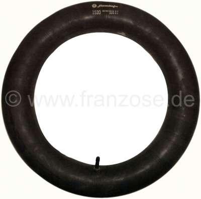 Citroen-2CV Innertube for tire size 125/15 + 135/15. Reproduction! Suitable for Citroen 2CV.
