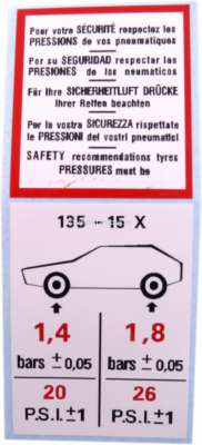 R1 1//12 Sticker Cap Set