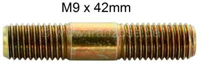 Citroen-2CV M9, stud bolt, for the mounting of the drive shaft at the gearbox. Suitable for Citroen 2C
