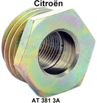Citroen-2CV Speedometer pinion driving worm (4 turns). Suitable for Citroen 2CV6, Dyane 6, ACDY, Mehar