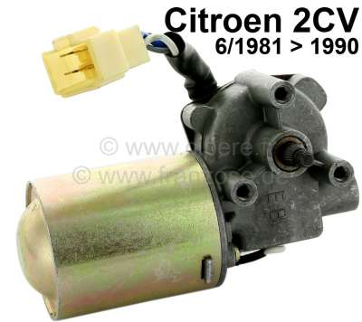 Citroen-2CV Wiper engine approximately, 12 V. Suitable for Citroen 2CV6, of year of construction 6/198