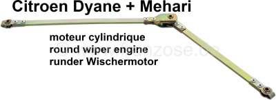 Citroen-2CV Wiper engine linkage, to the wiper axles. Suitable for Citroen Dyane, Acadiane, Mehari, wi