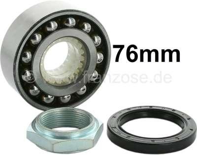 Citroen-2CV Wheel bearing set rear, suitable for Citroen AK, ACDY, AMi 6+8, AZAM 6. Not suitable for n
